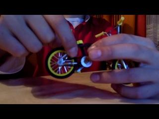 2 часть обучения трюкам на фингер BMX