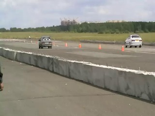Кубок Castrol 2011 Ваз 2114 Turbo Vs Toyota Corona (Бочка)
