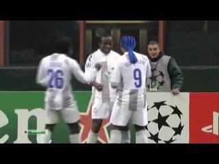 """""""Интер"""" - ЦСКА 1:2. 2011/12. Лига чемпионов. Групповой этап."""