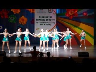 Акробатический рок н ролл Формейшн девушки Снежинки г Томск 15 12 2012