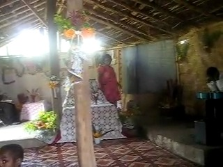 Woman Preaching in TOK PISIN (Papua New Guinea)