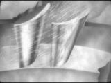 Рабочий процесс в осевой ступени турбины