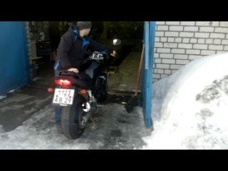 Yamaha FZs600 после зимовки