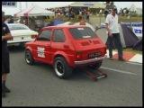 Fiat 126p 6,3l V8 vs VW Golf 3 Turbo 1 4 Meile
