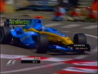 F1 2004. 06. Гран-При (ГП GP) Монако, квалификация