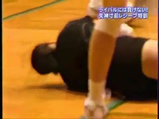 Как тренируют либеро в Японии