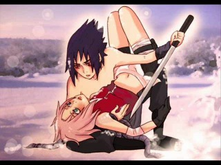 Сакура и Саске и их любовь