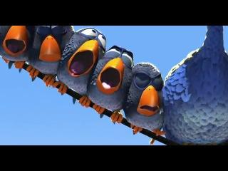 Мультик о птичках от студии Pixar. Классика!))))