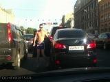 = Танцы в московской пробке =