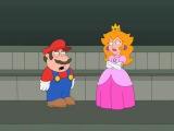 Кавалькада Мультипликационных Комедий - супер-марио спасает принцессу