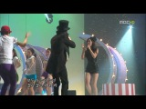 [PERF] SNSD (Tiffany & Yuri) feat Nasun - Come to play(MBC Music Core / 2009.04.04)