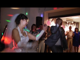 Энерджи танец с принцессой и по совместительству моей женой