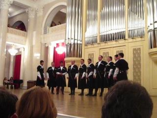 грузинский фольклорный хор
