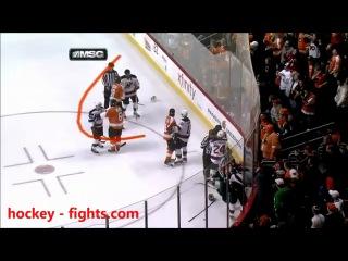 Хоккейная драка с участием Ковальчука .....Ковальчук WIN