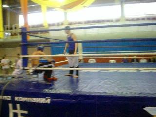 Соревнования кик-боксинг