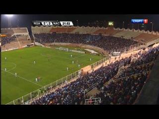 Кубок Либертадорес 2013 1 8 плей оф Реал Гарсиласо Насьональ М 1 тайм