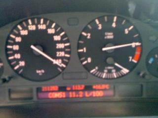 BMW e39 530 250 km/h
