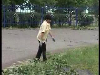 Ураган в Кисак-Каине