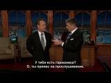 Craig Ferguson 29/10/12 Tom Hanks с субтитрами