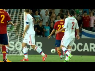 Иско против сборной России. Isco Amazing Skills Vs Russia U21 EURO 2013 HD 720p [06.06.13]