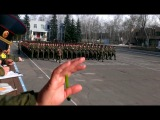 тренеровка парада рхбз 2013