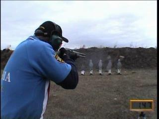 6 выстрелов за 1.97 секунды из Ружья МР-153 , стреляет Крючин В.А.