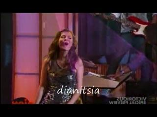 Виктория Джастис в мультсереале Виктория Победительница поёт песню Make it Shine 1 сезон 1 серия