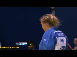 2013 World Championships Rio (-52kg Repechage) MULLER Marie (LUX) - SUNDBERG Jaana (FIN)