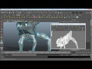 Lynda.com - Digital Creature Creation in ZBrush, Photoshop, and Maya - (06_01-cutseams)