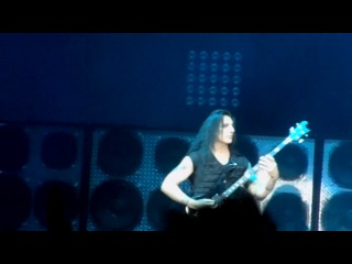 Manowar (Moscow 3.11.2012) Bass Solo
