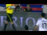 Реакция Шакиры на гол Криштиану Роналду в ворота Барселоны
