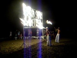Турция, лето 2011 г. Отель Iberostar Bellis Resort. Пляжная вечеринка.