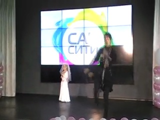 Алисия Аршакян-Небиеридзе победительница конкурса детская супермодель Новосибирска 2012г. ансамбль «Кавкасиони».