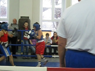 Бокс в г. Коломна Владимир Козлов 25 декабря 2010 (3 раунд)