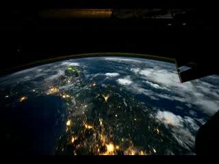 Вокруг Земли за 60 секунд (ночной полет) 1:02