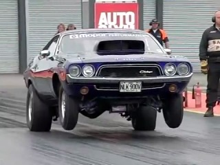 Dodge Challenger - Замедленный старт