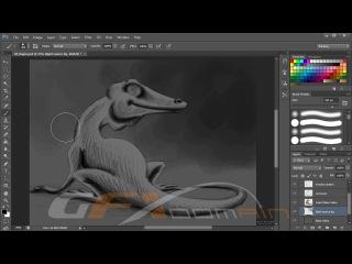 Шейдинг в Photoshop и методы раскрашивания для художников (обзор курса)