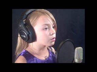 Noelle singing-The Voice Within by Christina Aguilera