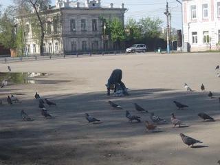 Современно-продвинутое гоняние голубей))