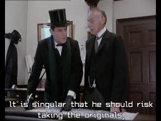 The Return of Sherlock Holmes: The Bruce Partington Plans/ Возвращение Шерлока Холмса: Чертежи Брюса Партингтона (1986)