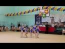 14 открытые всероссийские соревнования по художественной гимнастике, посвящённые памяти кн. А. Невского групповое упражнение в