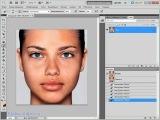 Устраняем блики с кожи в Photoshop CS5