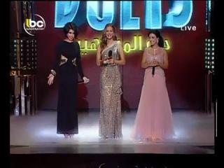 Haifa - Badi Chouf Bi3ainak Hob Celebrity Duets 25/11 /2011