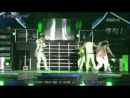 2PM - Again Again,Hate You (Jaebeom's last performance on stage(Sep 12, 2009)) [Русс.саб]