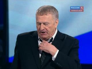 Выборы 2012. Дебаты. Жириновский - прохоров и пугачева