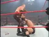 WWE Armageddon (2003) - Triple H vs Goldberg vs Kane for the World Heavyweight Title