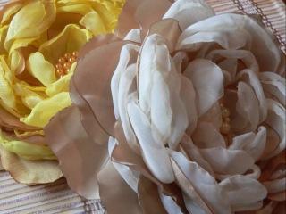 ИРИНА Цветкова. ЦВЕТЫ ИЗ ТКАНИ