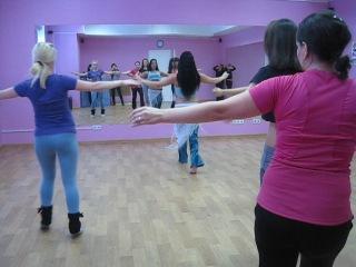 Мастер-класс Ангелины Судаковой г.Новосибирск (11.11.2012)