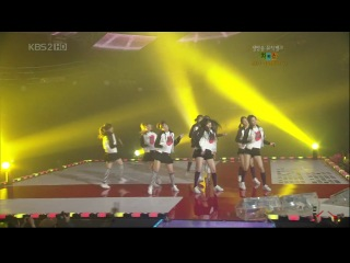 [PERF] SNSD - Into The New World & Girls' Generation (Music Bank/2007.12.28)