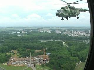 наша подготовка к авиационному параду г.Минск